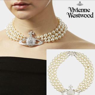 Vivienne Westwood - ヴィヴィアンウエストウッド🧸三連パールチョーカー