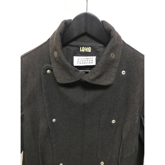 MM6(エムエムシックス)のVINTAGE MM6 インサイドアウト デザインコート レディースのジャケット/アウター(トレンチコート)の商品写真