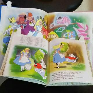 Disney - WDW【ALICE in WONDERLAND】絵本 英語版 2点 DISNEY