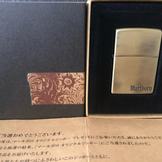ZIPPO - ZIPPO Marlboro ORIGINAL 懸賞当選 未使用