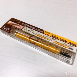 【エクセル】パウダー&ペンシルアイブロウEX(PD02/キャメルブラウン)(アイブロウペンシル)