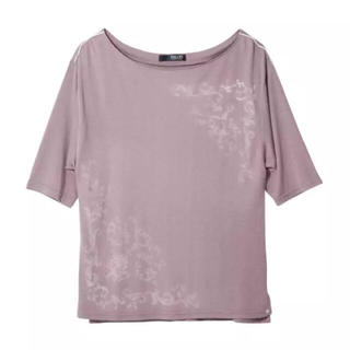 ピーチジョン(PEACH JOHN)のピーチジョン・フレームプリントトップS/M(Tシャツ(半袖/袖なし))
