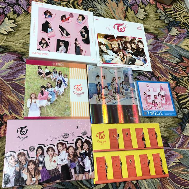 Waste(twice)(ウェストトゥワイス)のTWICE アルバム セット エンタメ/ホビーのCD(K-POP/アジア)の商品写真