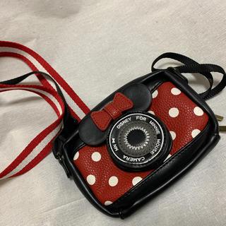 ディズニー(Disney)のミニー デジカメ ケース カメラケース(ケース/バッグ)
