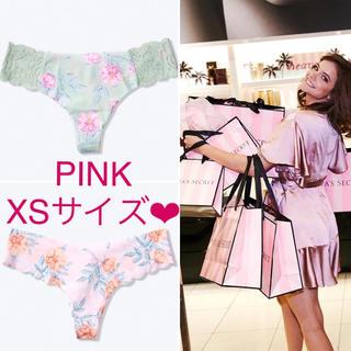 Victoria's Secret - 最新🌸花柄Tバッグショーツセット VS PINK XSサイズ🌸新品