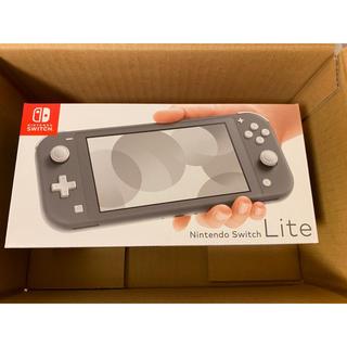 Nintendo Switch - 【新品未開封】ニンテンドー スイッチ ライトSwitch Lite グレー