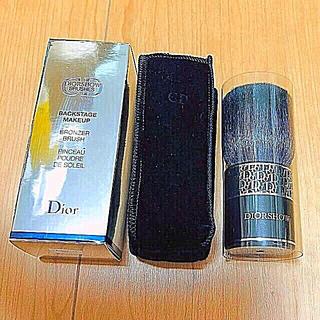 クリスチャンディオール(Christian Dior)の新品 Dior BACKSTAGE MAKEUP ブラシ(大)(ブラシ・チップ)