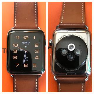 エルメス(Hermes)の万事屋さん専用 Apple Watch Series2  42mm 美品(腕時計(デジタル))