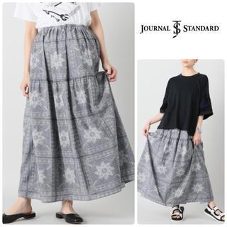 JOURNAL STANDARD - 【美品】ジャーナルスタンダード *ペイズリースカート