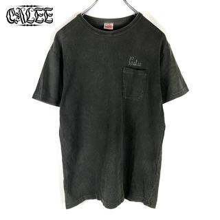 キャリー(CALEE)の☆【CALEE】バックプリント クルーネック  ポケット Tシャツ(Tシャツ/カットソー(半袖/袖なし))