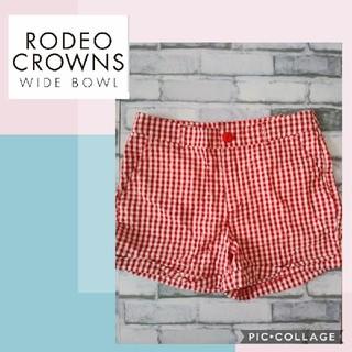 ロデオクラウンズワイドボウル(RODEO CROWNS WIDE BOWL)の【新品未使用】ショートパンツ(ショートパンツ)