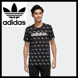 adidas - アディダス 新品未使用 フェイバリット 半袖Tシャツ XL ブラック メンズ