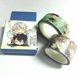 ディーエムエム(DMM)の刀剣乱舞 マスキングテープ 2種 三日月(テープ/マスキングテープ)