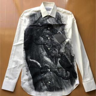 アレキサンダーマックイーン(Alexander McQueen)のAlexander McQueen カラスシャツ(シャツ)