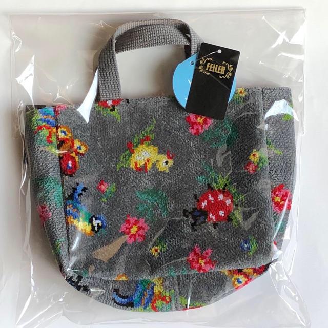 FEILER(フェイラー)のFEILER バッグインミニトート ♩ハイジ グレー♩ レディースのバッグ(トートバッグ)の商品写真