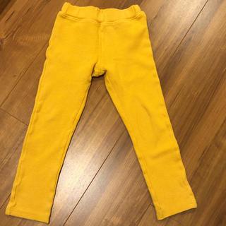 ムージョンジョン(mou jon jon)のmou jon jon 黄色 パンツ 110cm(パンツ/スパッツ)