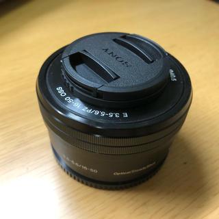SONY - SONY Eマウントズームレンズ SELP1650 E PZ 16-50mm