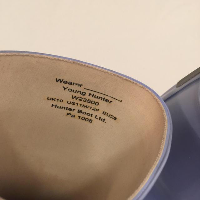 HUNTER(ハンター)の人気‼️ HUNTER ハンター 長靴 レインブーツ キッズ キッズ/ベビー/マタニティのキッズ靴/シューズ(15cm~)(長靴/レインシューズ)の商品写真