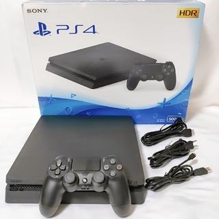PlayStation4 - PS4 ジェットブラック 最新薄型 CUH-2200A 500GB 美品