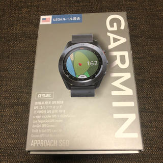 ガーミン(GARMIN)のガーミン ゴルフ アプローチs60 (その他)