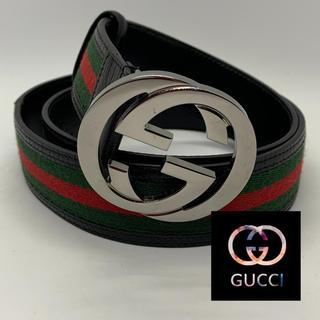 Gucci - GUCCI☆GGシェリーラインベルト☆美品