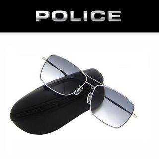 ポリス(POLICE)の【新品】POLICE チタン サングラス ティアドロップ(サングラス/メガネ)
