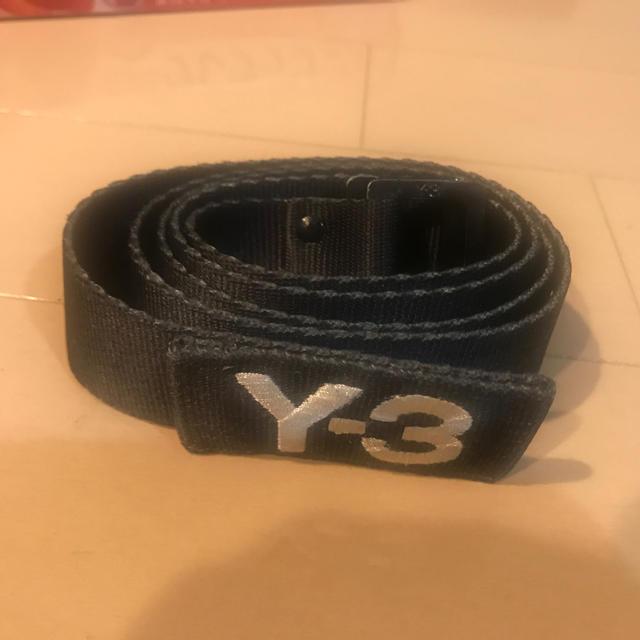 Y-3(ワイスリー)のY-3 ワイスリー ベルト 阪急メンズ東京 購入 メンズのファッション小物(ベルト)の商品写真