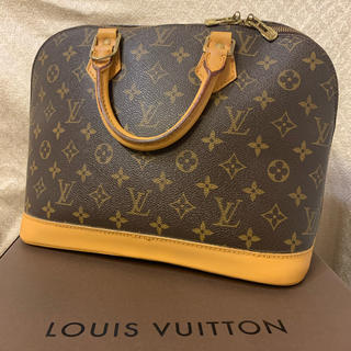 LOUIS VUITTON - 正規品 【超美品】ルイヴィトン バッグ アルマ モノグラム