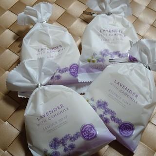 ペリカン(Pelikan)の新品未使用 ペリカン石鹸 ラベンダー カモミール ソープ✕4個(ボディソープ/石鹸)