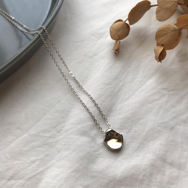 URBAN RESEARCH(アーバンリサーチ)の【NK-2A】Silver925 nuance beans necklace レディースのアクセサリー(ネックレス)の商品写真