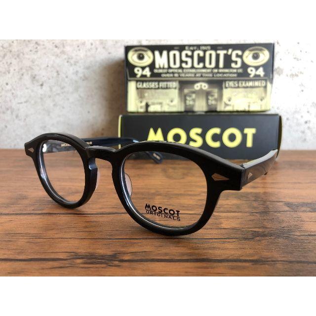 【ショウ様専用】MOSCOT LEMTOSH /  46 BLACK メンズのファッション小物(サングラス/メガネ)の商品写真