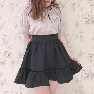 evelyn - evelyn フリルギャザースカート