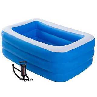 150×100×50プール ビニールプール 【家でも楽しく水遊びができるhapp