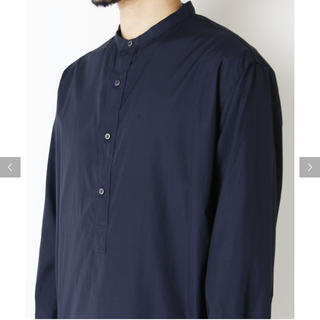 ワンエルディーケーセレクト(1LDK SELECT)の(GRAPHPAPER) BROAD BAND COLLAR SHIRT BLK(シャツ)