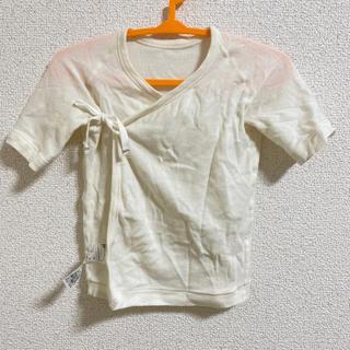 ムジルシリョウヒン(MUJI (無印良品))の無印良品 赤ちゃん ベビー服 短肌着 50〜60 (肌着/下着)