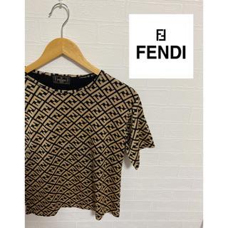 FENDI - 【FENDI】ズッカ柄 Tシャツ