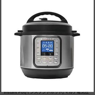 Instant Pot マルチ電気圧力鍋 Nova Plus Mini(調理機器)