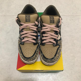 NIKE - travis scott nike dunk sb 26.0
