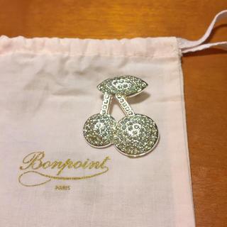 Bonpoint - ボンポワン  未使用品 チェリーブローチ