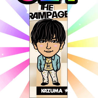 THE RAMPAGE - 川村壱馬 千社札 レア 雑誌衣装