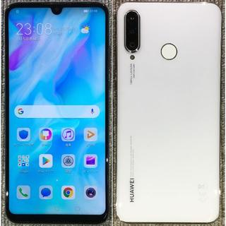 ANDROID - HUAWEI P30 lite シムフリー 白 本体のみ