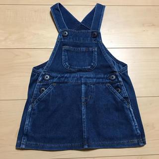 ムジルシリョウヒン(MUJI (無印良品))の無印良品 ジャンパースカート サイズ80(スカート)