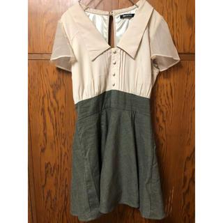 SPIRAL GIRL - スパイラルガール ドッキングシャツワンピース サイズ2