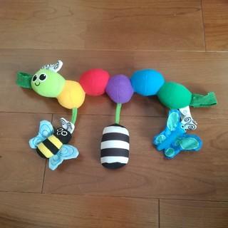 サッシー(Sassy)のSassy キャタピラーキャリー ベビーカー用おもちゃ 赤ちゃん(知育玩具)