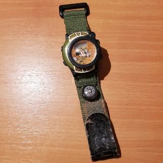 ミッキーマウス(ミッキーマウス)のミッキーマウス サファリ 腕時計(キャラクターグッズ)