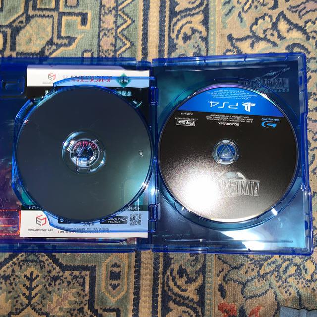SQUARE ENIX(スクウェアエニックス)のファイナルファンタジーVII リメイク PS4 エンタメ/ホビーのゲームソフト/ゲーム機本体(家庭用ゲームソフト)の商品写真