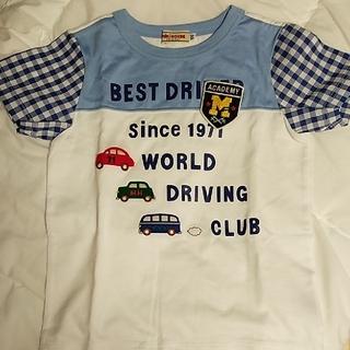 mikihouse - 試着のみ ミキハウス 車のTシャツ