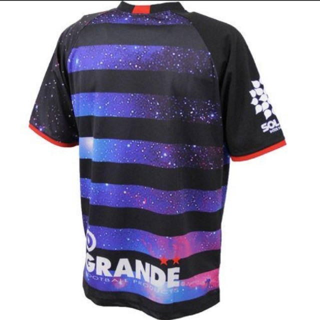 LUZ(ルース)のGRANDE  グランデ ギャラクシープラシャツ上下セット Lサイズ スポーツ/アウトドアのサッカー/フットサル(ウェア)の商品写真