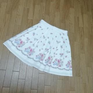 ロディスポット(LODISPOTTO)のロディスポット 花柄スカート♡(ひざ丈スカート)