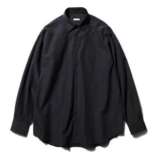 COMOLI - 【最終価格】comoli コモリシャツ ネイビー 3 美品 定番